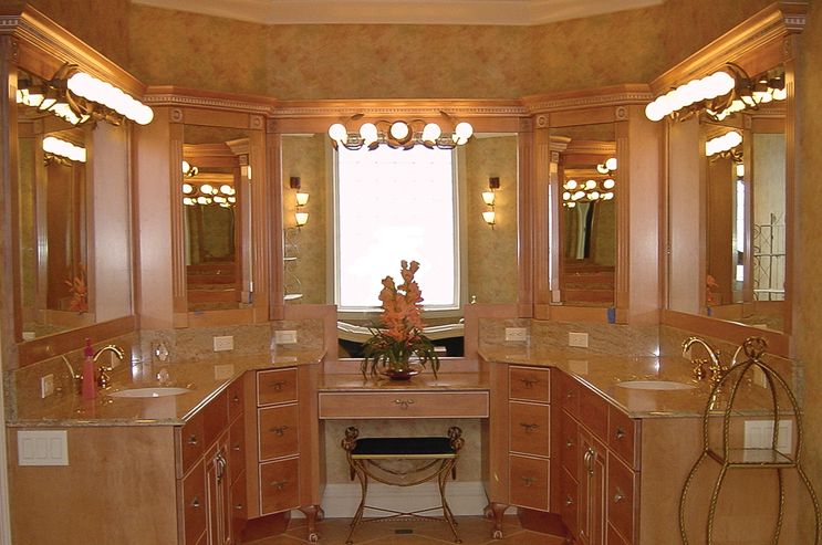 Lemon Bay Glass Englewood FL_Red_Jay_Cabinets_and_Vanity_mirrors