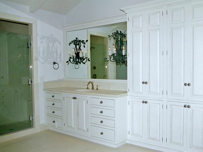 Lemon Bay Glass Englewood FL_Red_Jay_Cabinets_bath_vanity mirror_and_glass shower door