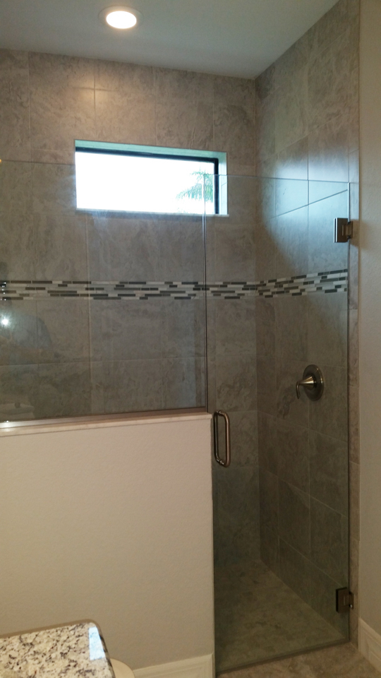 Lemon Bay Glass Englewood FL_Shower enclosure