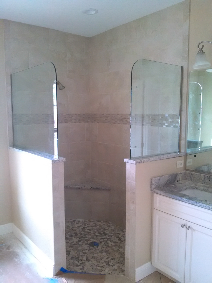 Lemon Bay Glass Englewood FL_Shower Enclosure_Glass Panels