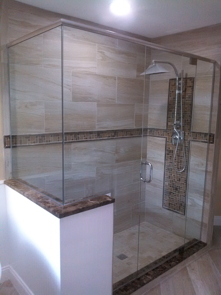 Lemon Bay Glass Englewood FL_Shower Enclosure_Custom