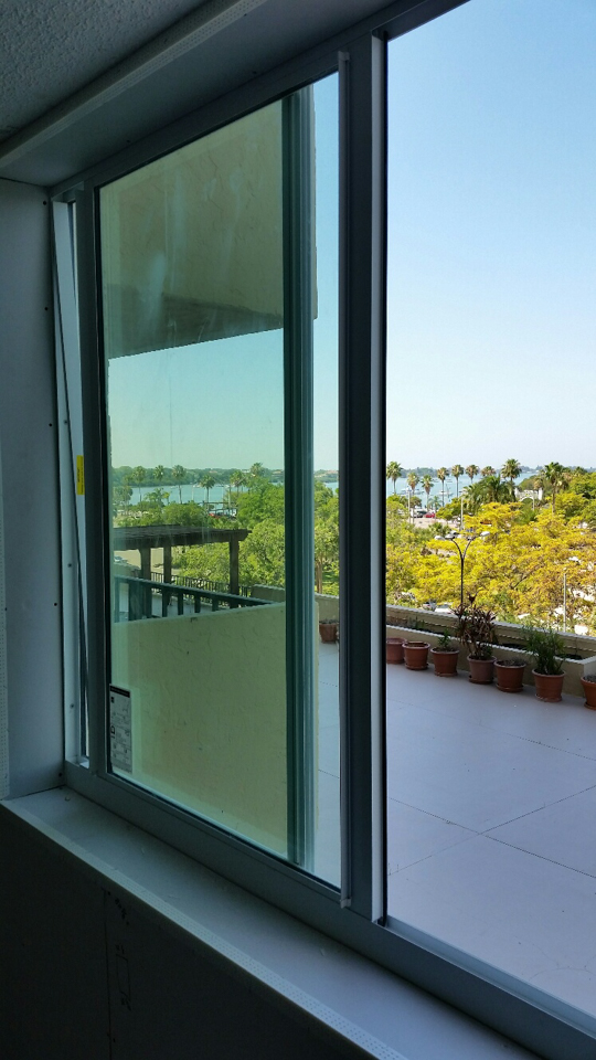 Lemon Bay Glass Englewood FL_Sliding Doors Condo