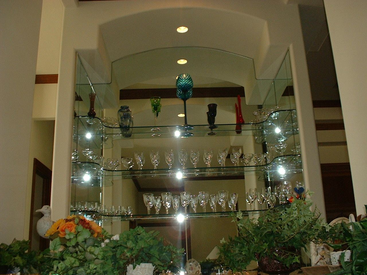 Lemon Bay Glass Englewood FL_Stackbar - Glass shelves