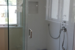 Lemon Bay Glass shower enclosure