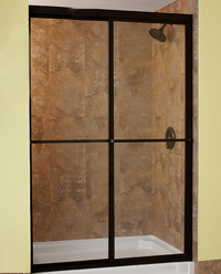 Custom Sliding Shower