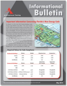 FL Energy Code Bulletin