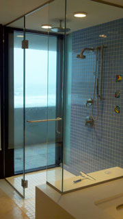 A Shower with a View