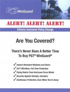 PGT Alert_Impact Resistant Windows