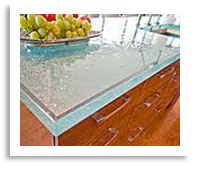 Think Glass Kitchen Countertop