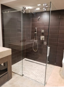 Glass_Frameless Sliding Shower Enclosure_Lemon Bay Glass