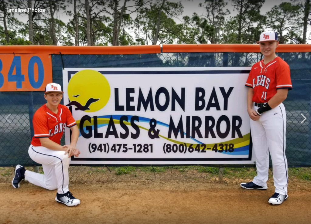 LBHS Manta Baseball Team_Lemon Bay Glass