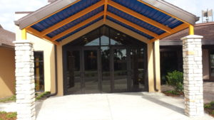Church entrance_Lemon Bay Glass
