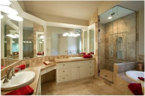 Lemon Bay Glass_Custom Bath and Shower Enclosure