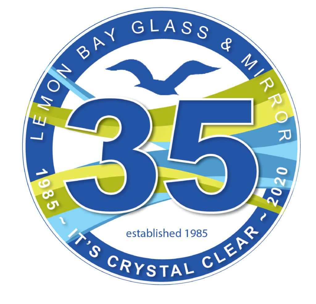 Lemon Bay Glass Englewood_35 Anniversary_Glass Company