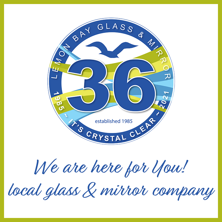 Lemon Bay Glass-Glass and Mirror-Serving locally 36 years